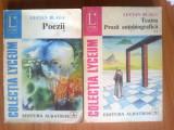 E1 Lucian Blaga - Poezii / Teatru. Proza autobiografica (2 volume), Alta editura