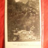 Ilustrata Baile Govora - Terassa, Colectia Trompeta SA13 - clasica