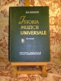 R. I. Gruber - Istoria muzicii universale Volumul II partea intii, Alta editura