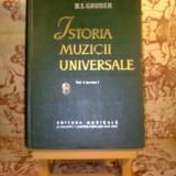 R. I. Gruber - Istoria muzicii universale Volumul II partea intii