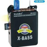 Radio FM portabil cu acumulator si port USB, slot card, Jack auxiliara - Aparat radio