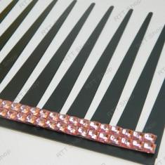 Gene Faruri Masina ++ Linie Cristale Pietricele Roz Deschis ++Adeziv 3M++ Acum este mai sexy!!!