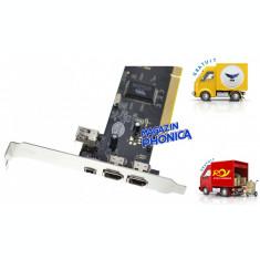 Placa PCI cu 2 porturi IEEE 1394 FireWire Serioux