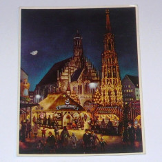 Carte postala - ilustrata - ISTORIE - ARTA - CITADINA - NURNBERG - GERMANIA - circulata 1968 - 2+1 gratis toate produsele la pret fix - RBK4819, Europa, Fotografie