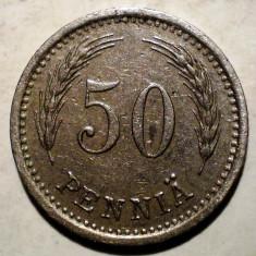 1.930 FINLANDA 50 PENNIA 1937, Europa, Cupru-Nichel