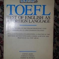 Toffle preparation book 1987