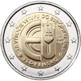SLOVACIA moneda 2 euro comemorativa 2014, UNC