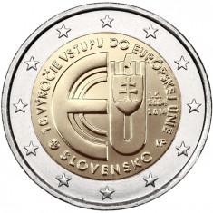 SLOVACIA moneda 2 euro comemorativa 2014, UNC, Europa, Cupru-Nichel