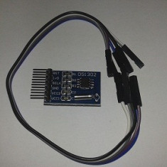 Real Time Clock DS1302 5 Lines (arduino AVR PIC)