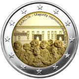 MALTA 2 euro comemorativ 2012, UNC