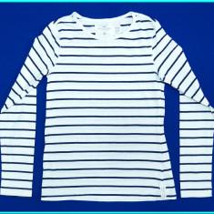 DE FIRMA _ Bluza / bluzita bumbac, marca H&M _ fete | 10 - 12 ani | 146 - 152 cm, Marime: Alta, Culoare: Alb