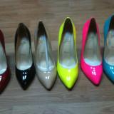 Pantofi cu toc Sttilleto din piele naturala LouBoutin
