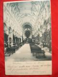 Ilustrata Wurtzburg circ. 1900 cu pereche 5 pf., Circulata