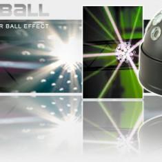 SUPER BILA CE LEDURI RGB DISCO BALL,ACOPERA SUPRAFETE MARI,ACTIVARE LA SUNET,DMX512 SAU AUTOMAT.