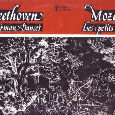 Vinil-Mozart-Micile nimicuri, Beethoven-12 dansuri germane - Muzica Opera electrecord