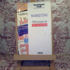 Marketing - Ghid propus de The Economist - Carte Marketing