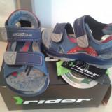 Sandale copii, marca RIder, nr 21, interior 13 cm, Culoare: Bleumarin, Baieti
