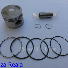 Kit Piston + Segmenti Scuter Chinezesc Gy6 4T- 49cc - 39mm - bolt 13mm