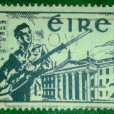 1941 Irlanda Eire a 25 a Aniversare Insurectia de Pasti Yvert 77 circulat, Sarbatori, Stampilat