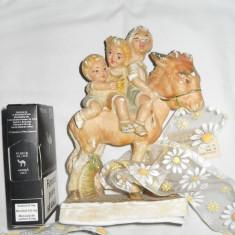 Figurina veche alabastru splendida