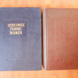 LEXICONUL TEHNIC ROMAN  I-M, Vol. III. Volumul 3 + LEXICONUL TEHNIC ROMAN - Elaborare noua, Vol.6 (D-DZ) Volumul VI (Carti vechi DEX,Dictionar romana)