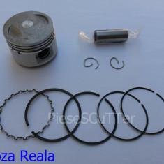 Kit Piston + Segmenti Scuter Chinezesc Gy6 4T - 80cc - 47mm - bolt 13mm