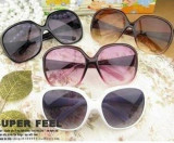 Ochelari soare  albi dama model Wayfarer - cool glasses, Femei, Protectie UV 100%, Plastic