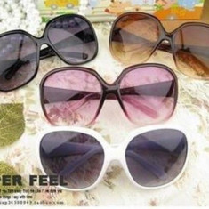 Ochelari soare albi dama model Wayfarer - cool glasses - Ochelari stil wayfarer, Femei