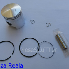 Kit Piston + Segmenti scuter Piaggio / Piagio ( cota de reparatie ( 40.5mm / 41mm / 41.5mm / 42mm / 43mm / 43.5 ) - Pistoane - segmenti Moto