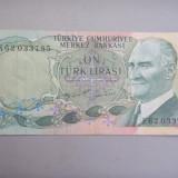 10 LIRE TURCIA 1970