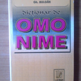 e2 Gh. Bulgar - Dictionar de omonime