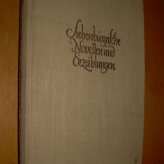 SIEBENBURGISCHE NOVELLEN UND ERZAHLUNGEN - ERWIN WITTSTOCK - IN LIMBA GERMANA - Carte in germana