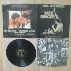 NEIL DIAMOND : The Jazz Singer (1980) (vinil indian) Muzica de film - Muzica Folk Altele