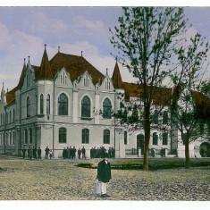 2589 - SEBES ALBA, centrul - old postcard - unused