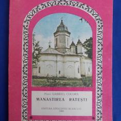 PREOT GABRIEL COCORA - MANASTIREA RATESTI - EPISCOPIA BUZAULUI - 1988 - Carti Istoria bisericii
