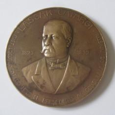 RARA! MEDALIA LASCAR CATARGI INTEMEIETORUL PARTIDULUI CONSERVATOR 28 OCT.1907