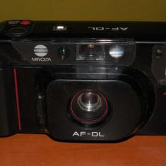 AuX: Aparat foto cu film, de colectie, vechi din anii '90, marca MINLOTA AF-DL Japan, posibil functional!