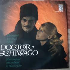 Doctor Schiwago Zhivago Jivago Maurice Jarre muzica film Soundtrack disc vinyl - Muzica soundtrack, VINIL