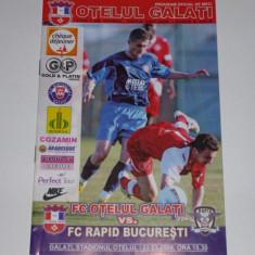 Program meci fotbal OTELUL GALATI - RAPID BUCURESTI 02.03.2008