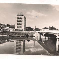 #carte postala(ilustrata)-ORADEA-Podul 23 August - Carte Postala Crisana dupa 1918, Circulata, Fotografie