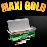 Tuburi MAXI GOLD - 200 tuburi tigari pentru injectat tutun, filtre tigari - Foite tigari