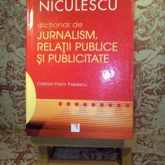 Cristian Florin Popescu - Dictionar de jurnalism, relatii publice si pub