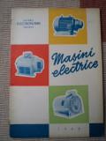 Masini electrice uzinele electoputere craiova 1963 carte tehnica mecanica rar, Alta editura