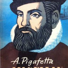 CU MAGELLAN IN JURUL LUMII - A. Pigafetta - Carte de calatorie