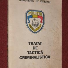 Tratat de tactica criminalistica - Constantin Aionitoaie, Ion Eugen Sandu (1992) - Carte Criminologie