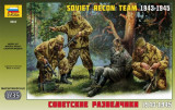 + Macheta Zvezda 3643 1:35 - Soviet Reconnaissance Team +
