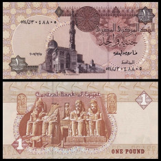2. EGIPT, 1 POUND 2007, UNC - bancnota africa