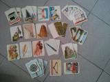 Jetoane vintage/vechi, anii 1970-1980, set incomplet cu alfabetul, pentru colectionari sau pasionati, literele, 31 jetoane
