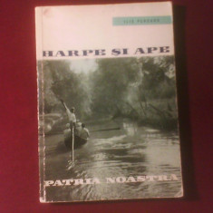 Ilie Purcaru Harpe si ape. Album dunarean, editie princeps, Alta editura