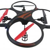 MEGA DRONA PT.ACROBATIE, TEHNOLOGIE 2, 4GHZ, TELECOMANDA, 6 CANALE GYRO, 3 VITEZE.